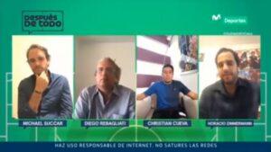 """Christian Cueva en DDT: """"No me hace sentir cómodo que un entrenador me 'blinde'"""" (VIDEO)"""