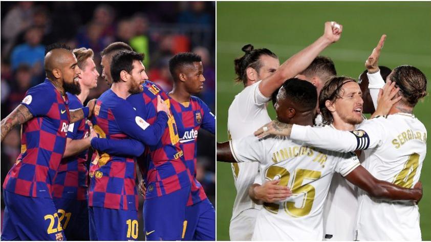 La Liga: Así se mueven las apuestas para el desenlace final del torneo español entre el Real Madrid y Barcelona
