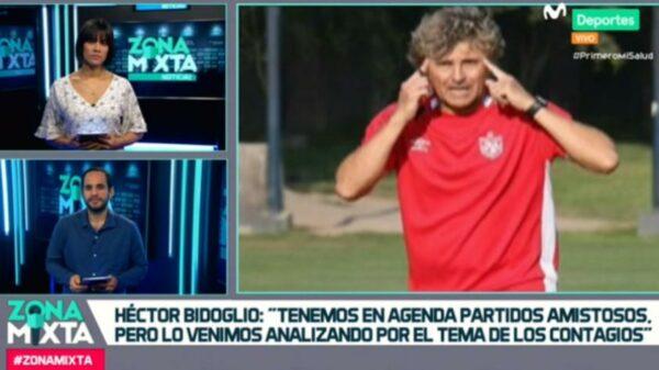 """Héctor Bidoglio en Zona Mixta: """"No estoy de acuerdo con la reducción de la bolsa de minutos"""" (VIDEO)"""