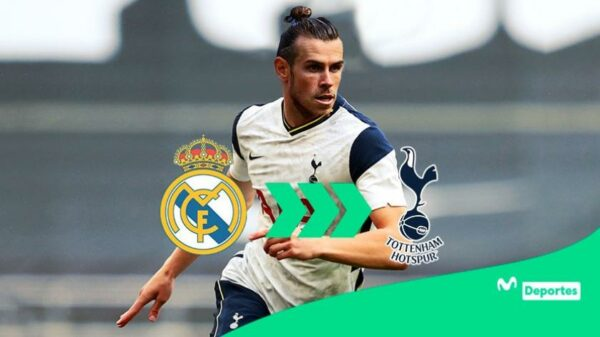 Gareth Bale en Londres y listo para volver al Tottenham Hotspur