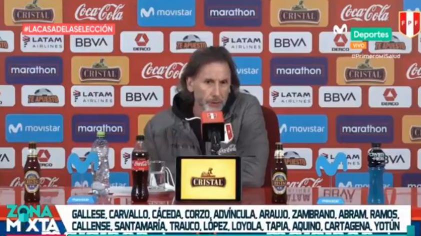 Con grandes novedades: Ricardo Gareca dio a conocer la lista de convocados para el inicio de las Clasificatorias (VIDEO)