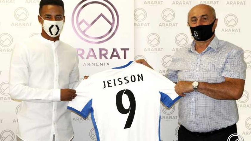 Jeisson Martínez tuvo caluroso recibimiento en Ararat de Armenia