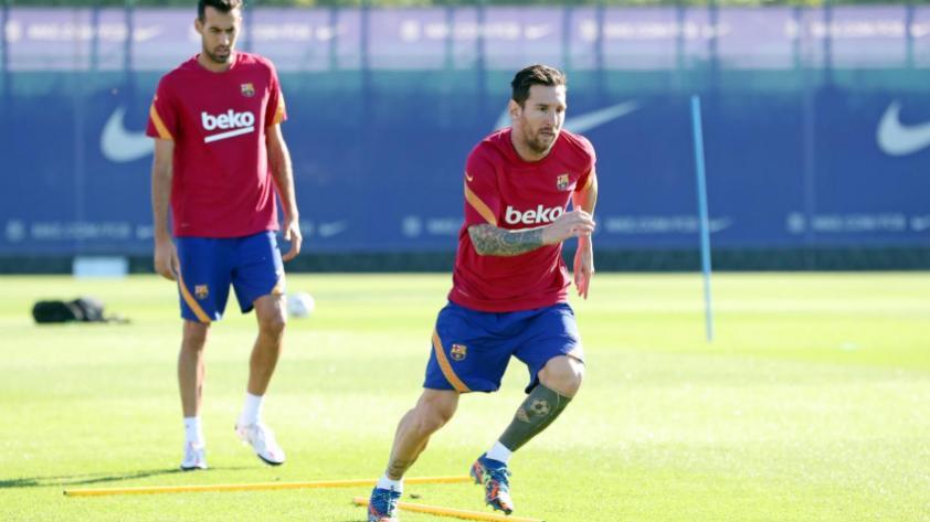 """Ronald Koeman, entrenador del Barcelona: """"Messi ha demostrado que es un jugador importantísimo y ojalá pueda demostrarlo"""" (VIDEO)"""