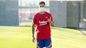 De regreso: Philippe Coutinho se incorpora a los entrenamientos del Barcelona