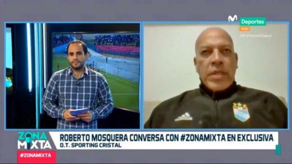 """Roberto Mosquera en Zona Mixta: """"Cristal estuvo 7 años sin campeonar y nadie sacó algún dirigente"""" (VIDEO)"""