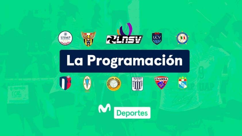 Liga Nacional de Vóley Femenino: programación y horarios de la primera jornada