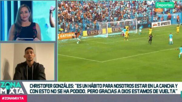 Zona Mixta: Christofer Gonzáles contó cómo se prepara Sporting Cristal para el reinicio de la Liga 1 Movistar
