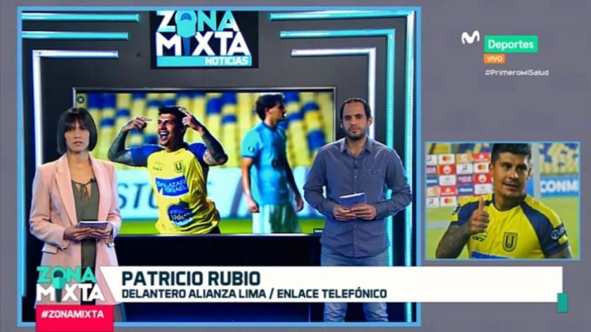 """Patricio Rubio en Zona Mixta: """"Alianza Lima es un club muy grande y con una linda hinchada"""" (VIDEO)"""