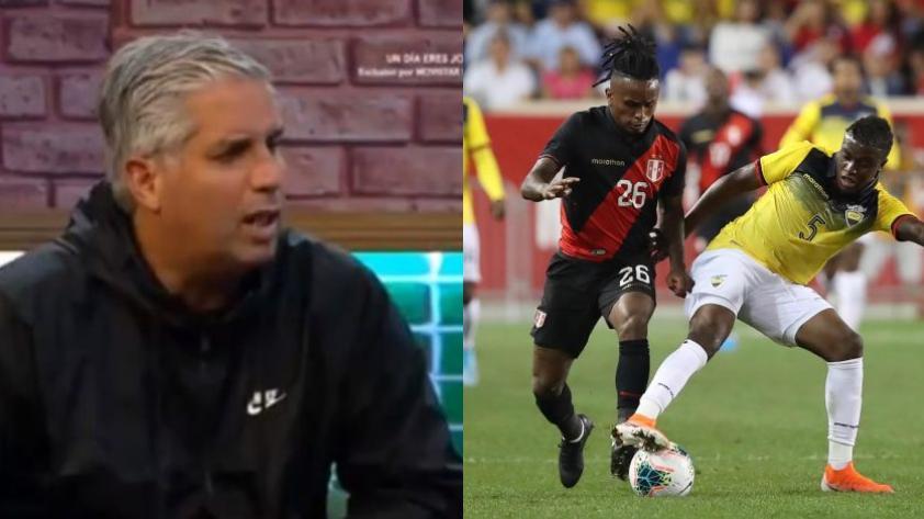 """Diego Rebagliati tras la derrota de Perú 1-0 ante Ecuador: """"Nadie arriesgó un pase"""" (VIDEO)"""