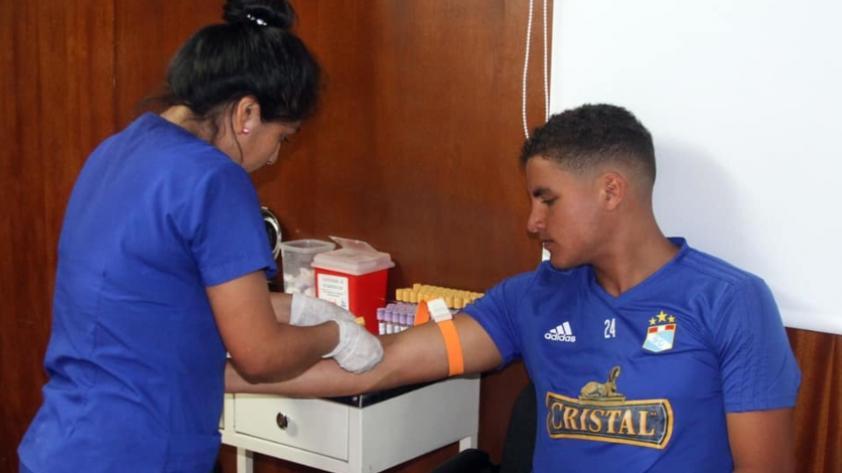 Sporting Cristal: plantel de jugadores pasaron exámenes médicos (FOTOS)