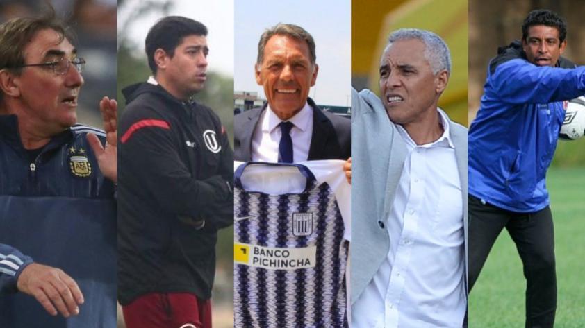 Liga 1: conoce a los entrenadores de los 18 equipos que buscarán el título del 2019 (FOTOS)