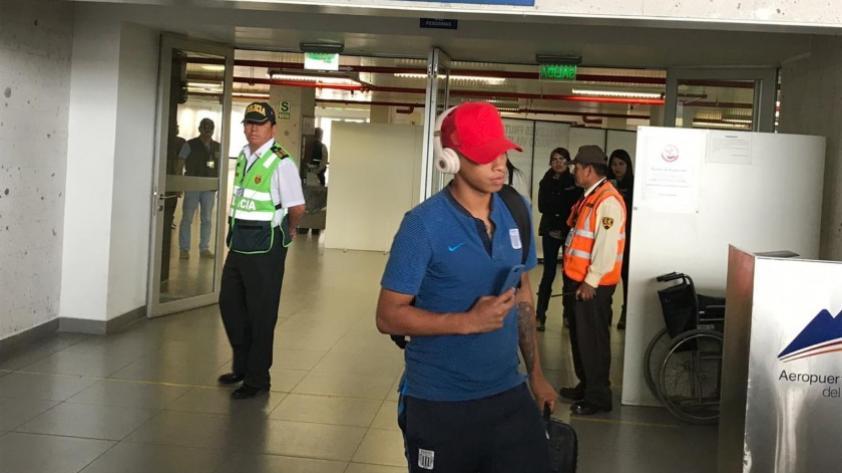 Alianza Lima llegó a Arequipa a pocas horas del partido contra Melgar (FOTOS)