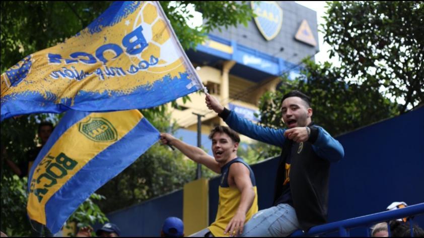 ¡Una fiesta! Miles de hinchas de Boca Juniors llenaron la 'Bombonera' antes de la final de la Copa Libertadores (FOTOS Y VIDEOS)