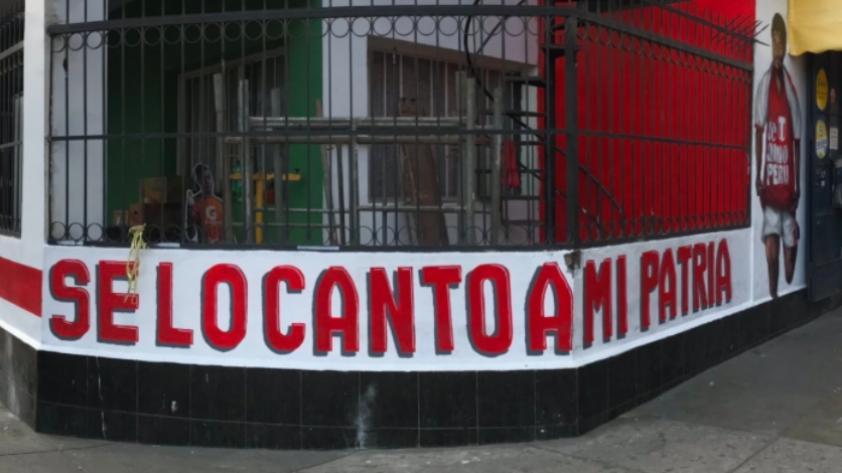 Hinchas Incondicionales acondicionaron estos murales en los alrededores del Estadio Nacional (FOTOS)