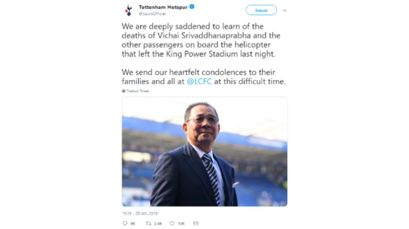 Leicester City: el mundo del fútbol conmocionado tras el fallecimiento del presidente del club (FOTOS)