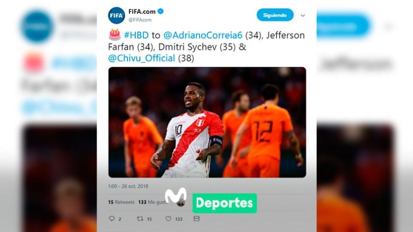 Jefferson Farfán cumple 34 años: el saludo del mundo del fútbol para el delantero peruano (FOTOS)