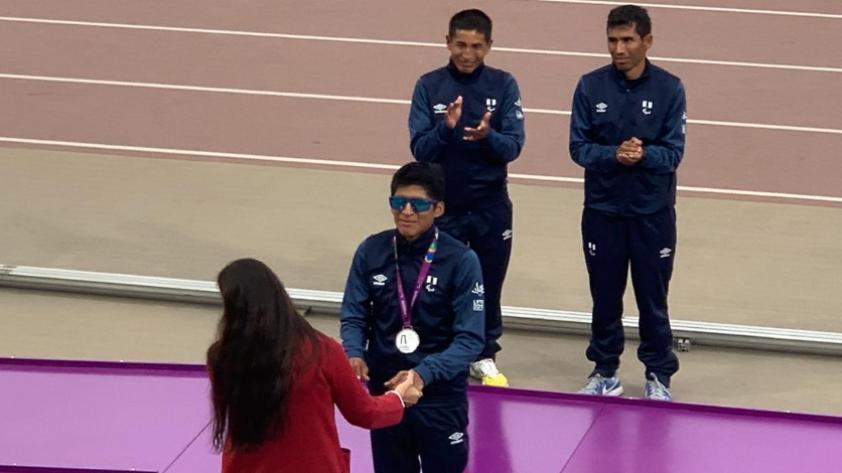 ¡Que sean muchas más! Luis Sandoval recibió la primera medalla para Perú en los Juegos Parapanamericanos Lima 2019 (FOTOS)