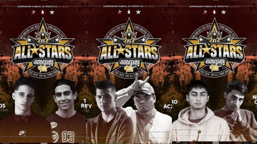 God Level 'All Stars': conoce las 14 parejas confirmadas para el evento de Freestyle (FOTOS)