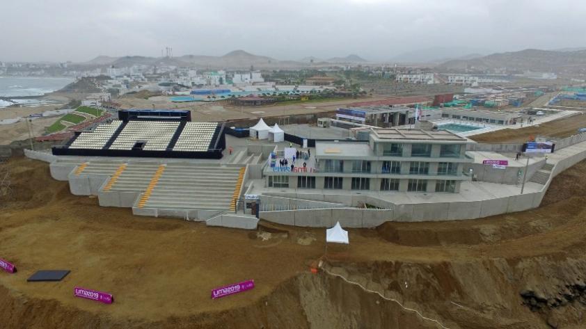 ¡Un lujo! Lima 2019 entregó el Centro de Alto Rendimiento de Surf en Punta Rocas (FOTOS)
