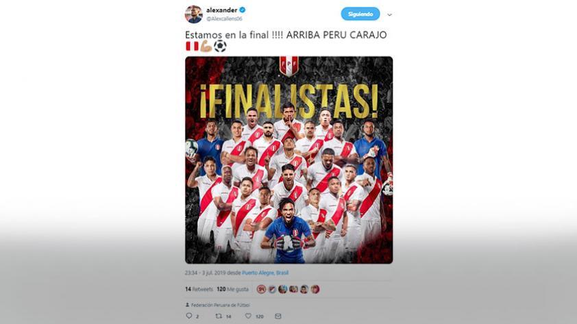 Esto es de ellos: las redes sociales de los jugadores de la Selección Peruana luego de la clasificación a la final de la Copa América (FOTOS)