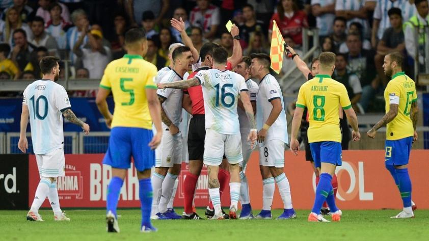Las mejores imágenes de la victoria brasileña 2-0 sobre Argentina en Belo Horizonte (FOTOS)