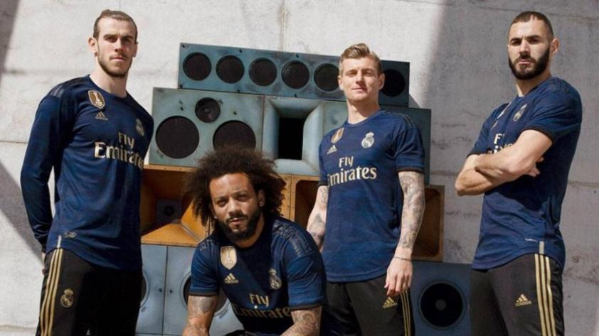 Real Madrid presentó su camiseta alterna con canción de trap (FOTOS y VIDEO)