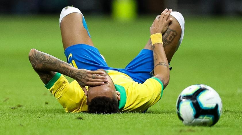 Cinco lesiones en cinco años: la pesadilla de Neymar y su ausencia en la Copa América (FOTOS