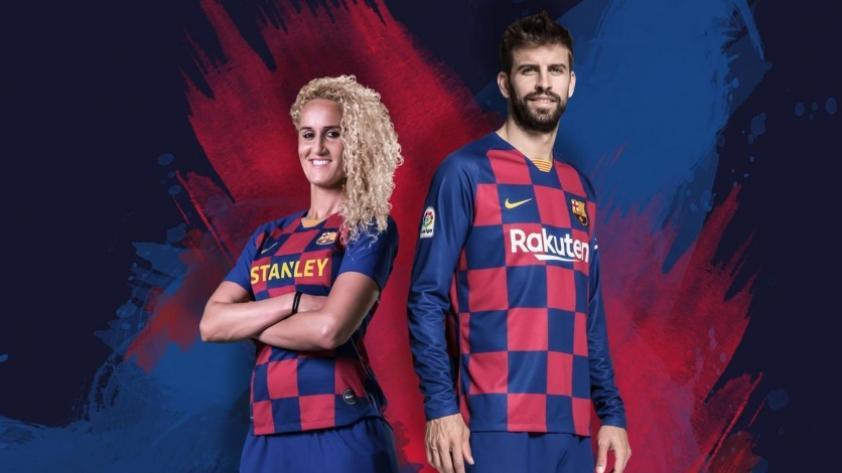 Con un diseño novedoso, Barcelona presentó su nueva camiseta para la temporada 2019/2020 (FOTOS)