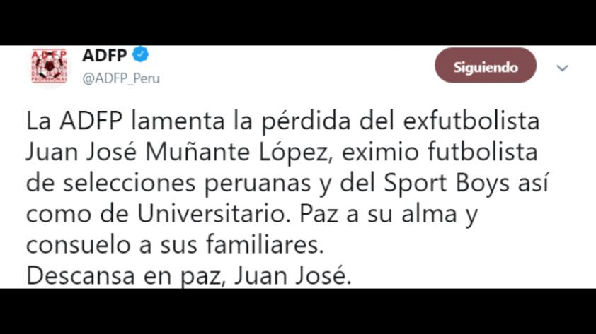 Siempre presente: los mensajes de condolencia del fútbol latinoamericano tras la partida de Juan José Muñante (FOTOS)