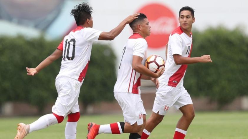 Perú Sub 17: los últimos 5 partidos contra selecciones en fotos (GALERÍA)