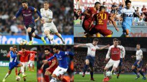 Fin de semana clásico: Estos son los cinco 'derbis' que se jugarán en el fútbol europeo (FOTOS)