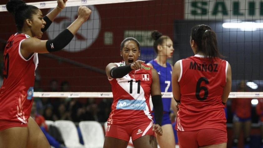 ¡Perú venció 3 - 1 a Puerto Rico en el Grand Prix!