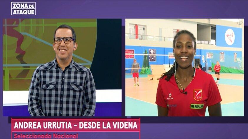 """Andrea Urrutia: """"Luizomar de Moura me ha enseñado a reforzar los fundamentos"""""""