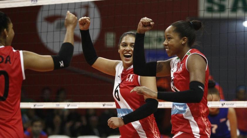 ¡Perú se impuso 3 - 0 a Cuba en la Copa Panamericana de Vóley!