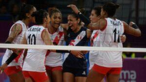 Lima 2019: Perú ganó en su debut en Vóley Femenino ante su similar de Canadá
