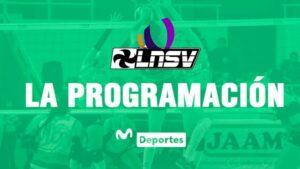 Liga Nacional Juvenil de Vóley: programación y horarios de los partidos