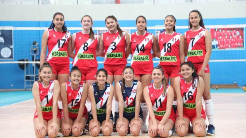 Selección Peruana de Voleibol participará en el Sudamericano Sub-20