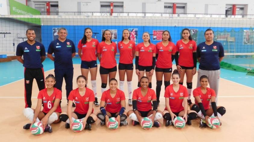 Selección peruana Sub23 de vóley quedó lista para la Copa Panamericana