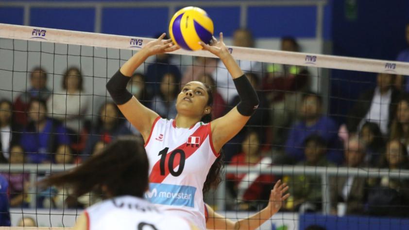 Perú cayó 3 sets a 0 con Canadá por la Copa Panamericana