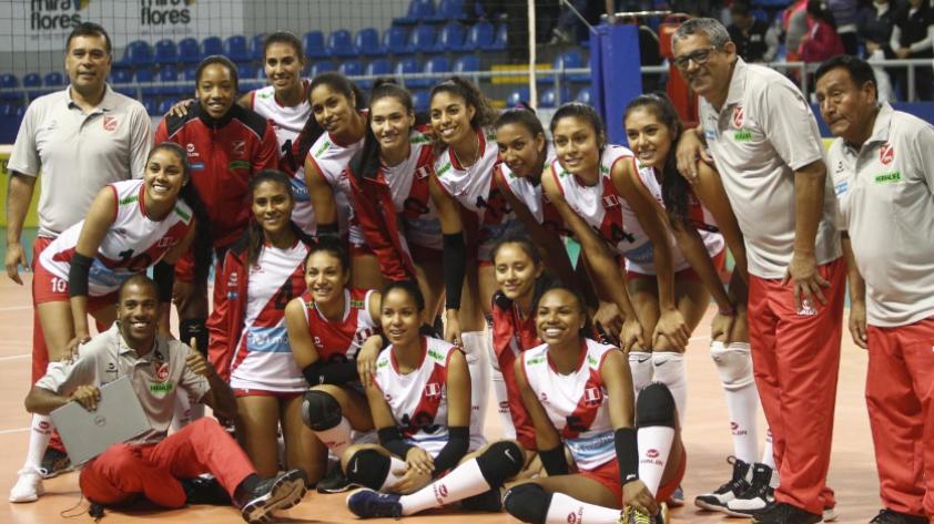 Perú venció a Chile por el Challenger Cup de vóley
