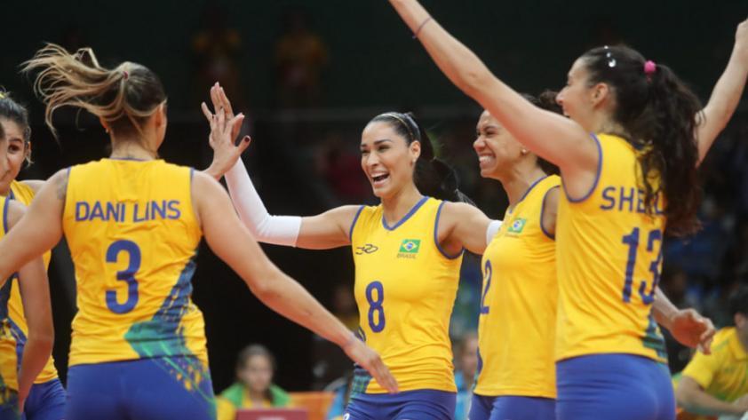 #ModoVóley Brasil y Venezuela debutaron con triunfo en Sudamericano
