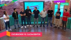 Al Ángulo: Cucuruchos vs. Cachacientos, el épico duelo con todas las estrellas del canal (VIDEO)