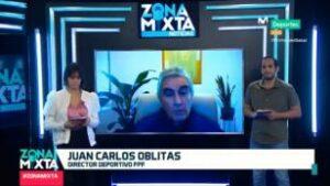 """Juan Carlos Oblitas en Zona Mixta: """"Mientras Lapadula no decida ser peruano, no será elegible"""" (VIDEO)"""