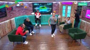 Al Ángulo: Michael Succar y Diego Rebagliati tratando de bailar al ritmo de Wilder Cartagena (VIDEO)