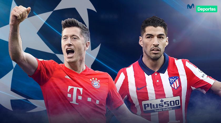 Bayern vs Atlético