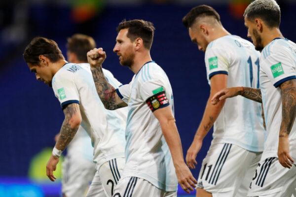 Argentina ganó por la mínima a Ecuador.