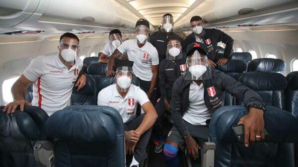 Selección Peruana rumbo a Paraguay