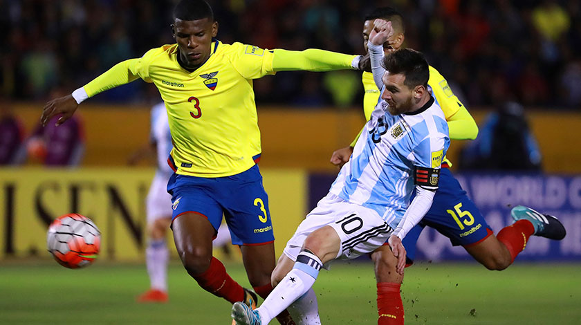 Argentina vs. Ecuador