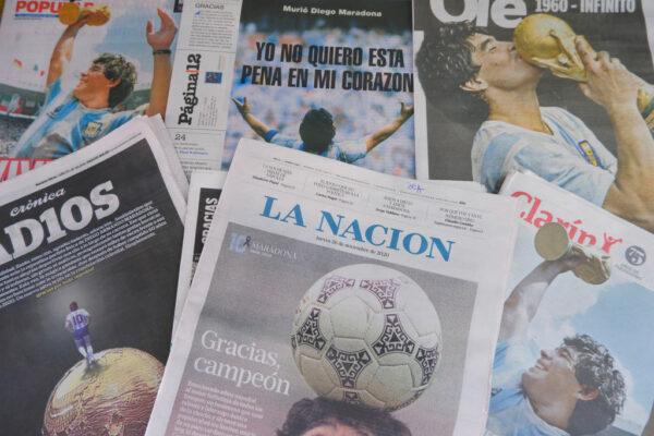 Diarios Maradona