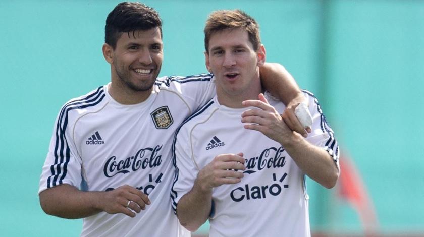 Agüero Messi